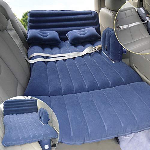 Auto aufblasbare Bett/Auto Rücksitz Kind Matratze/Faltluftkissen/selbstfahrende Babybett, blau 130 * 80cm