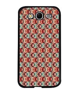 PrintVisa Designer Back Case Cover for Samsung Galaxy Grand I9082 :: Samsung Galaxy Grand Z I9082Z :: Samsung Galaxy Grand Duos I9080 I9082 (Matty Box Round Design Texture Matefinish Red)