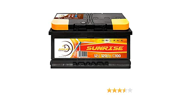 Solarbatterie 220Ah 12V Versorgungsbatterie Wohnmobil Batterie Boot Solar SMF Akku total wartungsfrei 180Ah