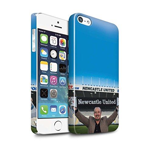 Officiel Newcastle United FC Coque / Clipser Brillant Etui pour Apple iPhone 5/5S / Pack 8pcs Design / NUFC Rafa Benítez Collection Bienvenue
