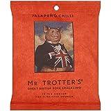 MR TROTTER Great British Chicharrón Del Señor Trotter - Chile Jalapeño 60g (Paquete de 6)