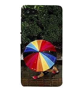 Multicolour Umbrella 3D Hard Polycarbonate Designer Back Case Cover for Lenovo ZUK Z2 :: Lenovo Z2 Plus
