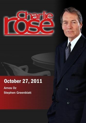 Charlie Rose - Amos Oz / Stephen Greenblatt (October 27, 2011)