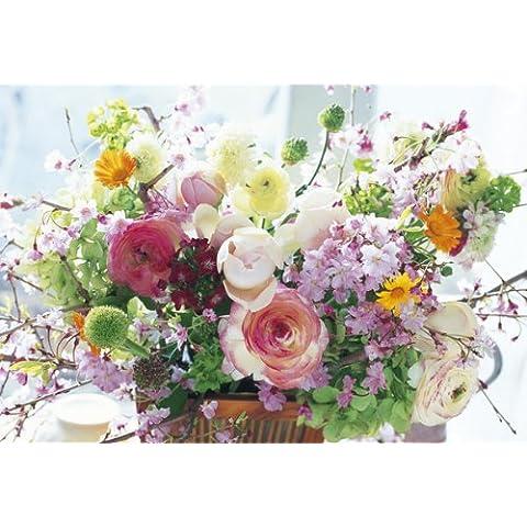 Rosa 08-036 amare da importanti maestri 450 piccolo fiore pezzo del puzzle (japan import)