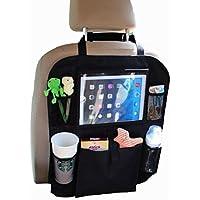 Flappi Duck Organizer Sedile Auto | Proteggi Sedile Auto Bambini | Protezione | Spazio per i Giocattoli dei Bambini | Porta Tablet | Porta Cellulare Auto Gratis