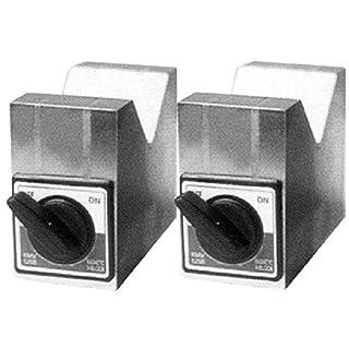 HHIP 3402-0900 Aluminum Cast Magnetic V-Block Set 4