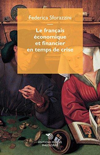 Le français économique et financier en temps de crise par Federica Sforazzini