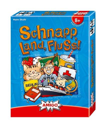 Amigo Spiele 7930 - Schnapp, Land, Fluss!