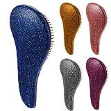 Portable Hair Combs Anti Static Massage Hairbrush Hair Detangling Styling Tools Purple