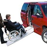 Rampa de acceso a vehículos de aluminio para silla de ruedas (270 kg)