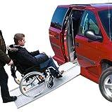 Rollstuhl ALU Auffahrrampe Auffahrschiene Verladerampe Alurampe Rampe 270 Kg