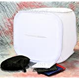 Digital HD cortina luz cubo Soft Box semirigido 100x 100x 100cm con 4fondos plegable