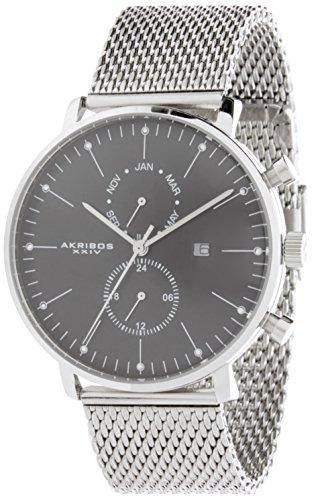 Akribos AK685SSB - Orologio da polso da uomo
