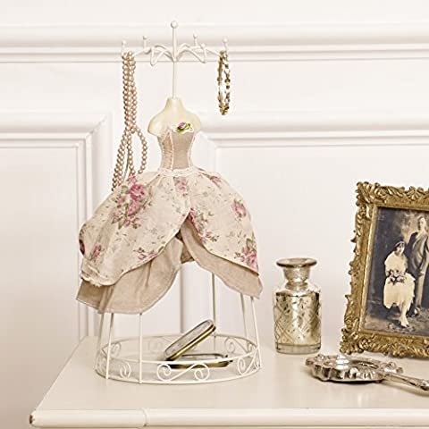 Beautiful Jewellery Hanger With Compartments (Y760) - Perfect gift for birthday, christmas or
