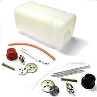 tz10010 450cc 450ml GASOLINA NITRO combustible rc modelo combustible almacenaje Tanque Plástico x 1