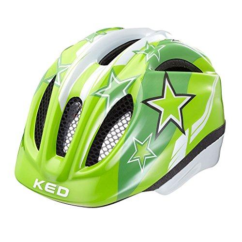 KED MEGGY 2017 Kinder-Fahrradhelm Kleinkind viele Farben, Größe:XS;Farbe:green stars
