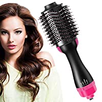 Hot Air Brush, StillCool 4 in 1 One Step Hair Dryer & Styler & Volumizer for Drying, Straightening and Curling, Hair Blow Dryer Brush with 360 Degree Swivel Power Cord, Ergonomic Design Handle
