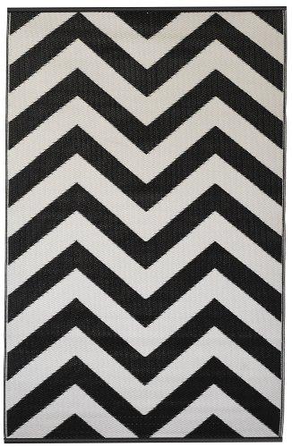 Laguna - Black & White (4' x 6')