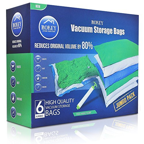Vacuum Storage Bags Jumbo Large Size (6 Pack 110 x for sale  Delivered anywhere in Ireland