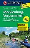 Mecklenburg - Vorpommern: KOMPASS-Wasserwanderatlas. (KOMPASS Große Wanderbücher, Band 608)