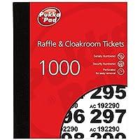 Pukka Pads Value Cloakroom Raffle Ticket Number Pad (Pack of 6)
