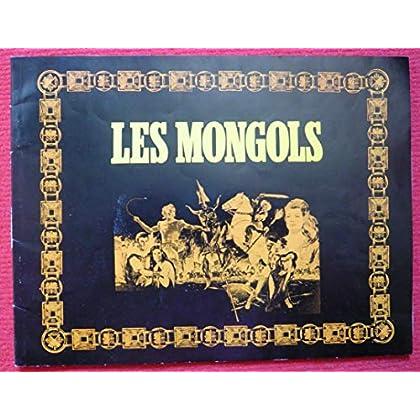Dossier de presse de Les Mongols (1961) – 21x28cm, 22 p - Film de André de Toth avec Jack Palance, Anita Ekberg – Photos couleurs – Très bon état.