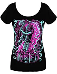 Twisted Tinman T Shirt Femme horreur gothique emo punk