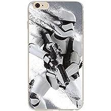 iPhone 5/5s Star Wars Caja del Silicona / Cubierta de Gel para Apple iPhone 5s 5 SE / Protector de Pantalla y Paño / iCHOOSE / Stormtrooper Splatter