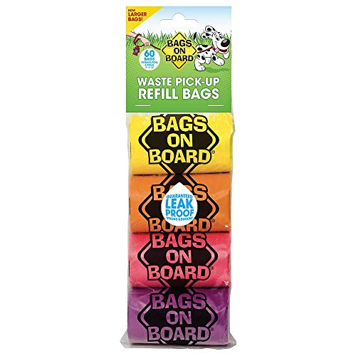 Artikelbild: Bags on Board Rainbow Refill Rollen, 60Stück