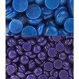 MagiDeal Hair Removal Wax Beans, Hard Body Wax Beans, Hair Removal Depilatory Wax Beads For Women Men, Purple-Lavender... - B07FWBR99G