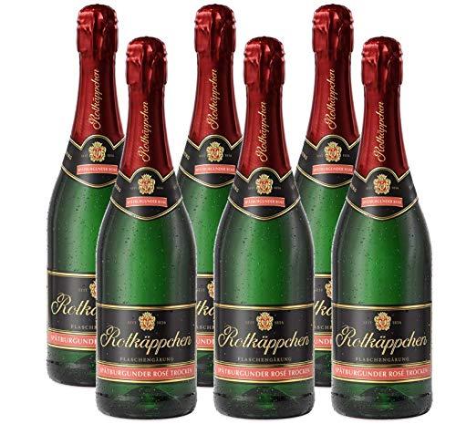aschengärung Spätburgunder Rosé trocken 6 x 0,75l - Premiumsekt deutscher Weine - für besondere Momente/Weihnachten/ Geburtstage/ zum Anstoßen/ als Mitbringsel ()