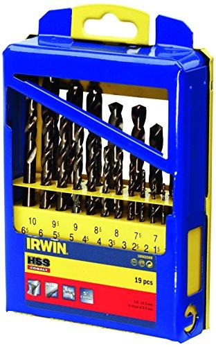 Irwin 10502569HSS Pro Kobalt-Bohrer Set (19Stück)