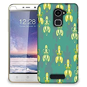Snoogg Pattern Design In Green Designer Protective Phone Back Case Cover For Coolpad Note 3 Lite