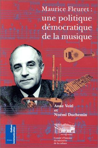 Maurice Fleuret : une politique démocratique de la musique (n.10)