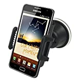 Holder smartphone GPS support voiture universel rotatif noir