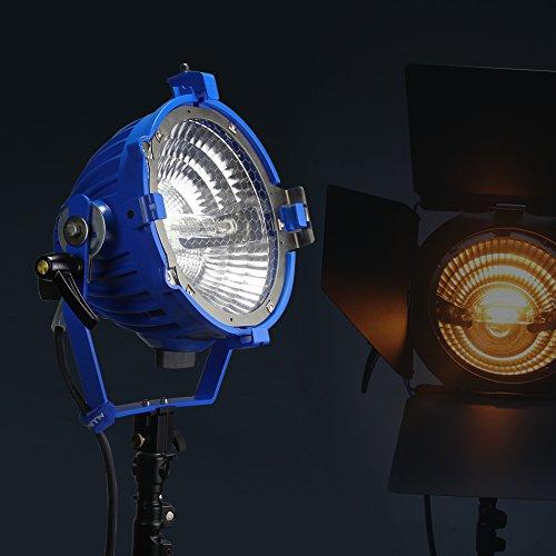 Tungsten 2000W 200V Licht + UV Schutz Glas + Birne + Tür für Studio Video Fotografie - Glas-türen-licht