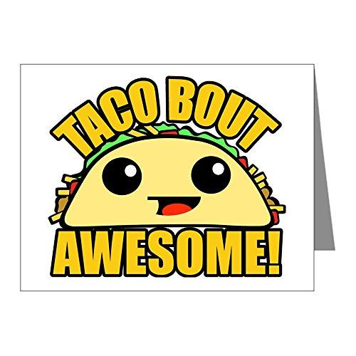 CafePress–Taco unterbug Awesome–blanko Note Karten (20Stück) matt
