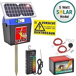 """Kit Pastor eléctrico solar """"Extra Power 9V"""" con accesorios"""