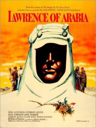 Poster 60 x 80 cm: Lawrence von Arabien (englisch) von Everett Collection - hochwertiger Kunstdruck, neues Kunstposter