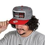 Nintendo Cap NES Controller Mütze Baseball Cap Schirmmütze Flat Bill Snapback-Cap Hut