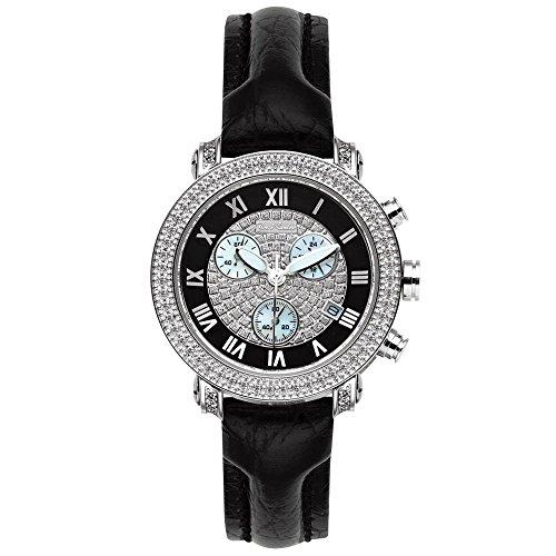Joe Rodeo Diamante Orologio da donna - PASSION argento 0,6 CTW