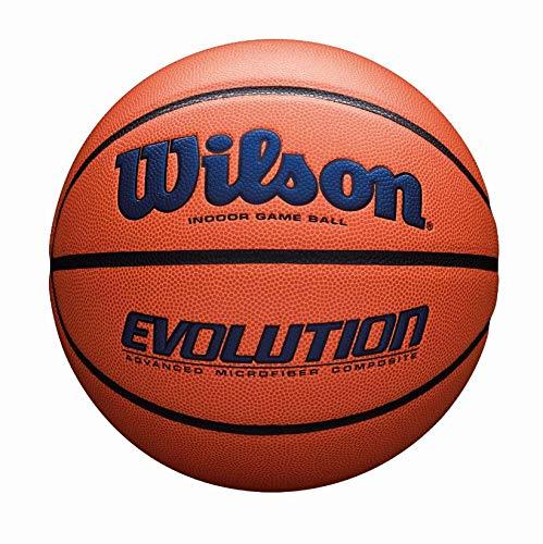 WILSON Sporting Goods Offizielle, Größe 29,5, Marineblau Evolution Indoor Game Basketball