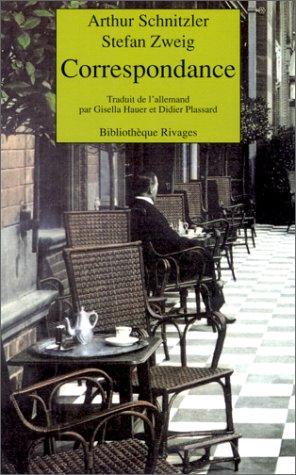 Correspondance par Stéfan Zweig