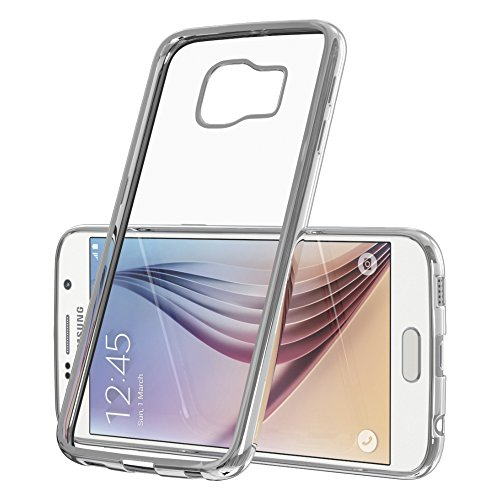 Samsung Galaxy S4 Mini Hülle - EAZY CASE Chrom Cover Handyhülle - Schutzhülle aus Silikon in Metallic Silber Silber