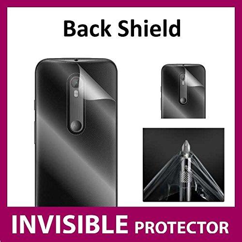 Motorola Moto G 3. Generation (2015) unsichtbar Schutzfolie Schutzhülle im lieferumfang enthalten) Military Grade (Rückseite Schutz Exklusiv für Ace Hülle Gen Invisibleshield