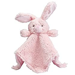 Elegant Baby Bunny Blankie Buddy