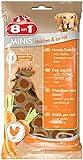 8in1 Minis Mega-Selection Hundesnacks (fettarm, glutenfrei, zuckerfrei, zehn verschiedene Sorten, Huhn Rind Lamm Kaninchen Pute Ente Hirsch Fisch), 1 kg Beutel (10 x 100g) - 26