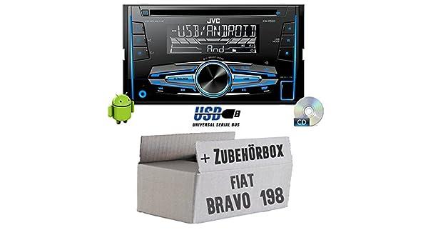 JVC KW-R520E Einbauset f/ür FIAT Bravo 198 JUST SOUND best choice for caraudio 2DIN Autoradio Radio
