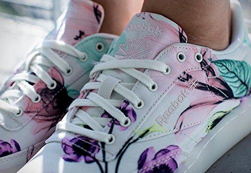 Reebok Club C 85 X-Ray Donna Sneaker Bianco white/pink/radiant