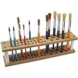 Les Pinceaux en panneau MDF Capacité Brosse Pinceau de peinture Support (45)